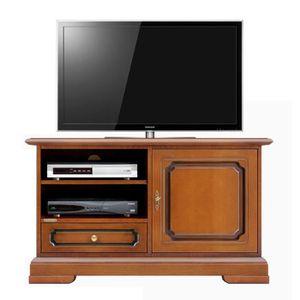 Petit meuble tv bois achat vente petit meuble tv bois pas cher cdiscount - Meuble tv petit espace ...