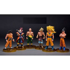 FIGURINE - PERSONNAGE Action Figurine Dragon Ball Z Collection 6 Personn