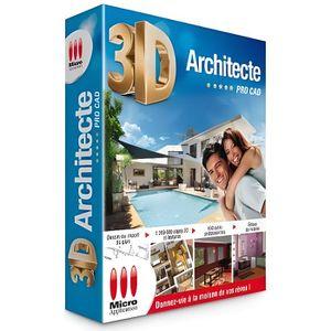 BUREAUTIQUE Logiciel PC MICRO APPLICATION 3D Architecte Pro…