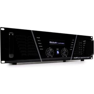 AMPLI PUISSANCE IBIZA SOUND AMP800 Amplificateur de sonorisation 2