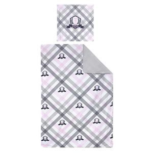 PARURE DE DRAP Parure de lit 140x200 cm 100% coton JUBILE Blanc 2