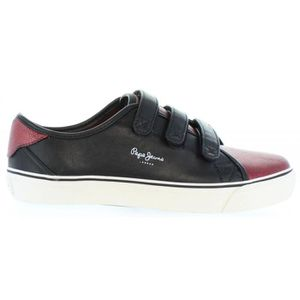 299 Femme BURGUNDY PLS30399 JEANS ALFORD PEPE Chaussures pour vx7YF