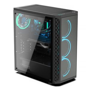 UNITÉ CENTRALE  PC Gamer, Intel i7, GTX 1050, 250 Go SSD, 1 To HDD