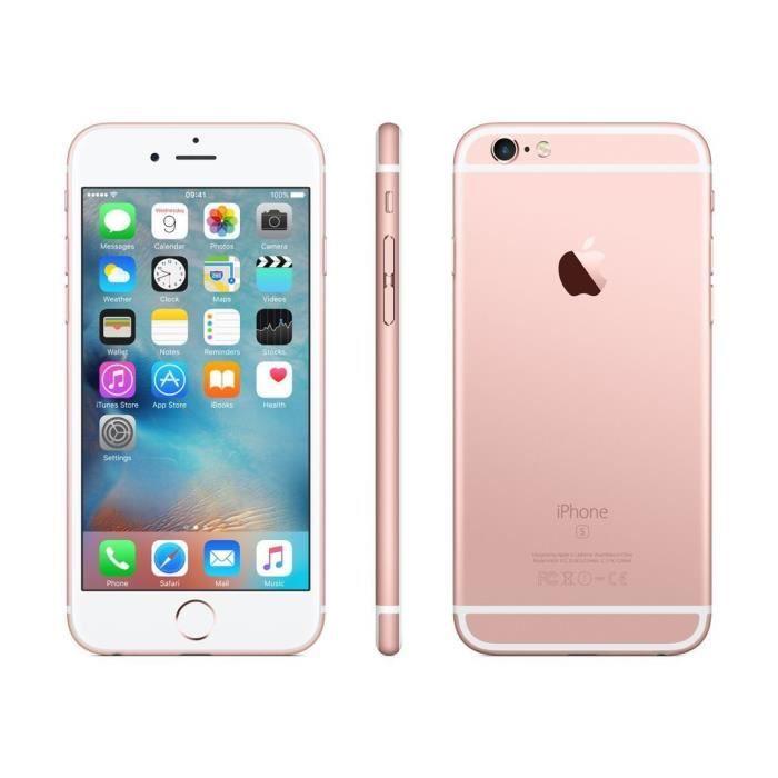 03c1bb592f2daa Apple iPhone 6S Or Rose 64Go Débloqué (Reconditionné Certifié à neuf ...