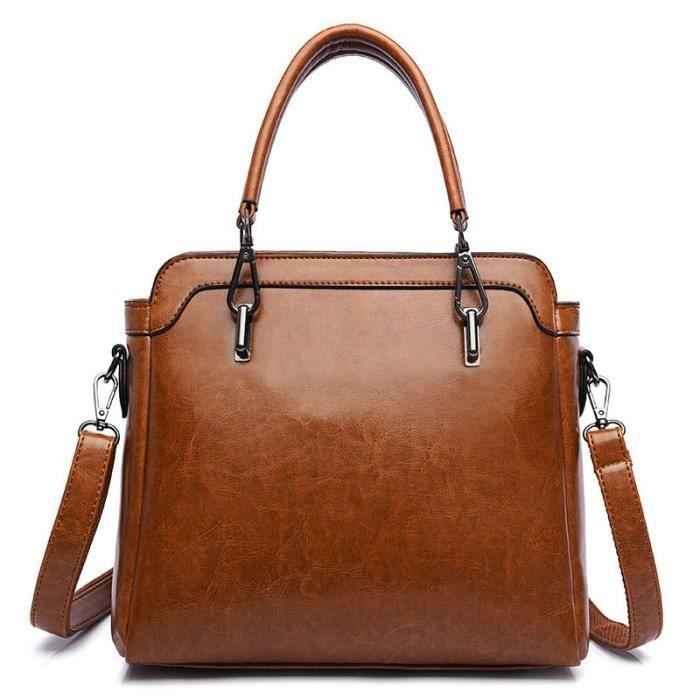 sac à main Marques de luxe pour femmes pour le travail Femme en cuir fourre-tout de haute qualité -213