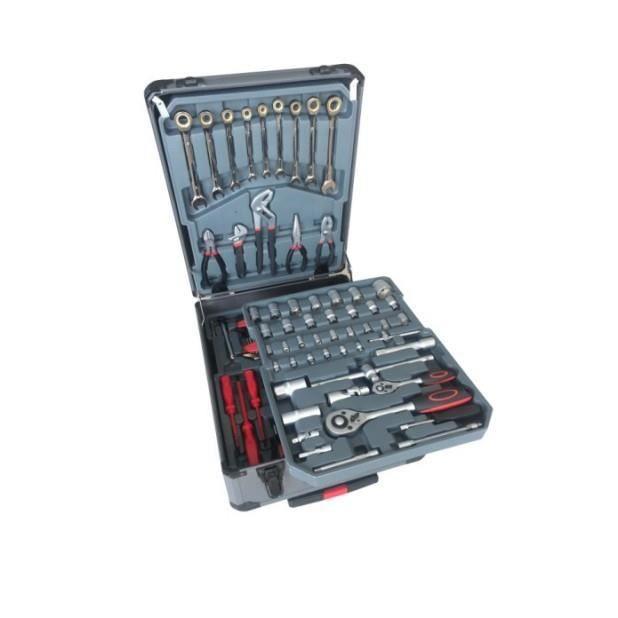 Magnifique Mallette à outils trolley  - 215 pièces