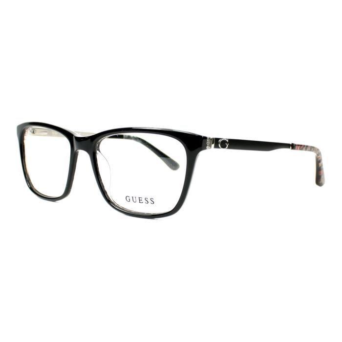 Lunettes de vue Guess GU2630 -1 Noir brillant - Noir mat Noir ... 36ecf3c791e0
