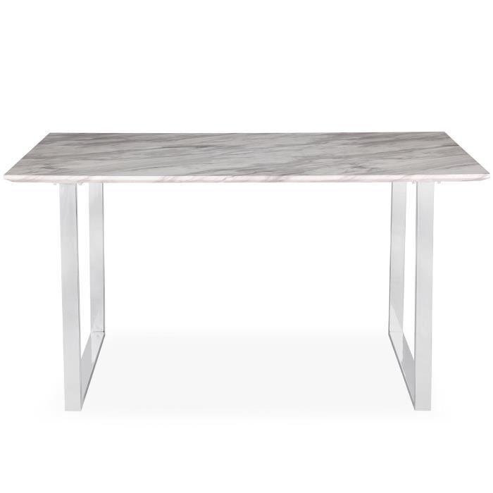 table salle a manger marbre. Black Bedroom Furniture Sets. Home Design Ideas