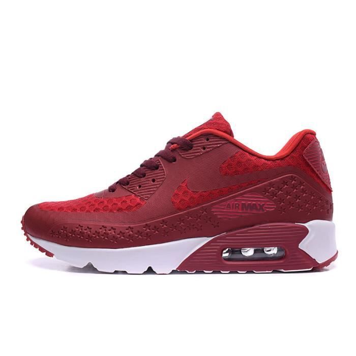 Nike Air Max 90 hyperfuse Chaussures de course Baskets Rouge