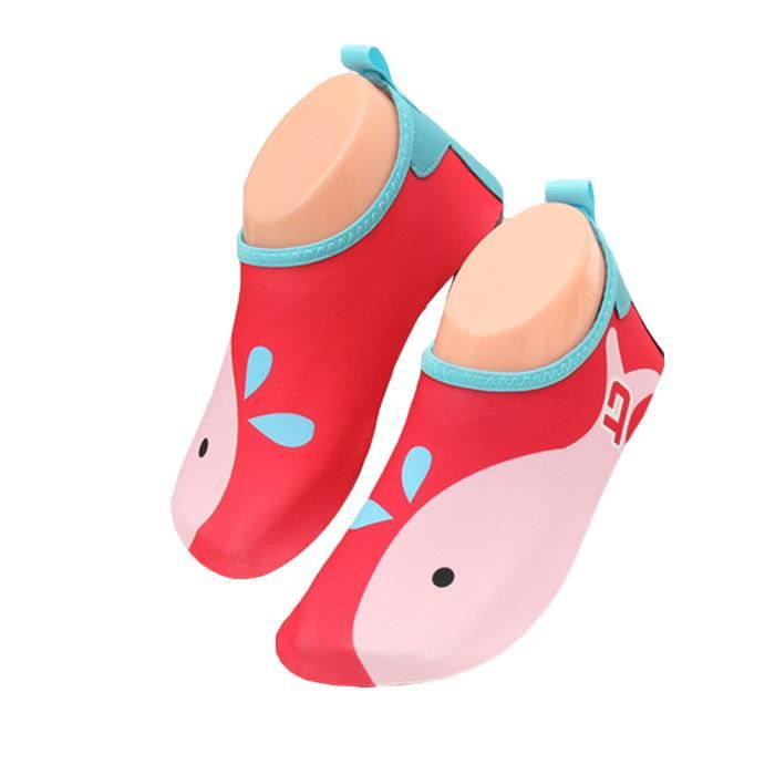 Séchage Rapide Respirante Chaussures d'eau Chaussures Nautique Pour Enfant