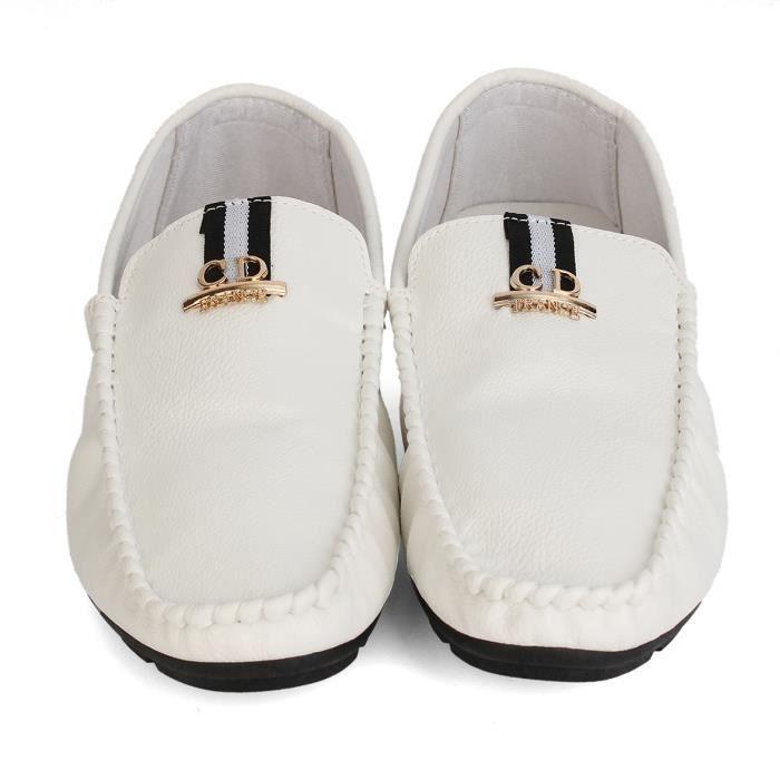 AEQUEEN Mocassins Homme PU Cuir Décontracté Chaussures De Ville Mode