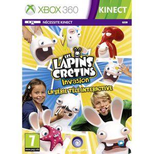 JEU XBOX 360 Lapins Crétins Invasion TV Interact Jeu XBOX 360