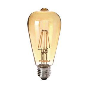 SYLVANIA Ampoule LED ? filament Toledo Retro ST 64 Edison ambré E27 4W équivalence 35W
