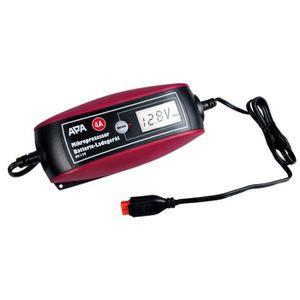 CHARGEUR DE BATTERIE Chargeur de batterie 6/12V 4A pour Moto et Auto