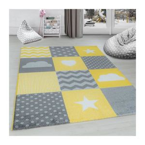 Best Tapis Chambre Bebe Jaune Images - House Interior ...