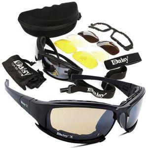 17533c1fe6a836 LUNETTES DE SOLEIL 4 Objectif Kit lunettes de soleil militaires Guerr
