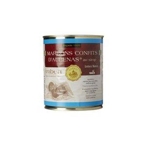 FRUITS CONFITS Marrons Confits d'Aubenas au sirop Imbert 850ml**