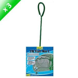 MANIPULATION - CROCHET TETRA Lot de 3 Epuisettes FN L 12cm pour poisson
