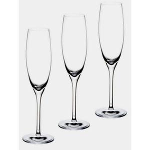Coupe à Champagne 3 FLUTE A CHAMPAGNE 20.5 CM 18CL CUISINE VAISSELLE