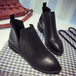 BOTTINE La pointe Chaussures femmes personnalité Creux lat