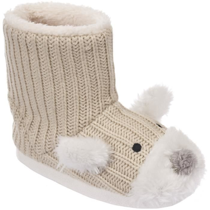 Chaussons style bottes Fille Sootie Trespass ourson 5wazw6