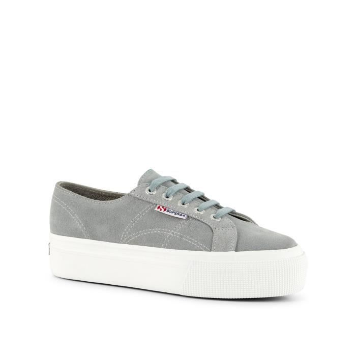 Superga Sneakers gris Femme S003LM0-506
