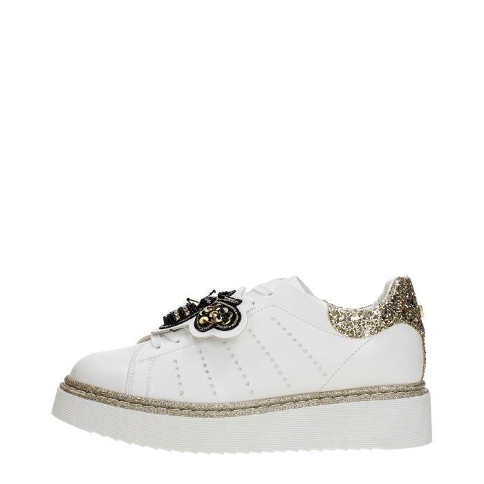 Cult Sneakers Femme WHITE PLATINUM, 39