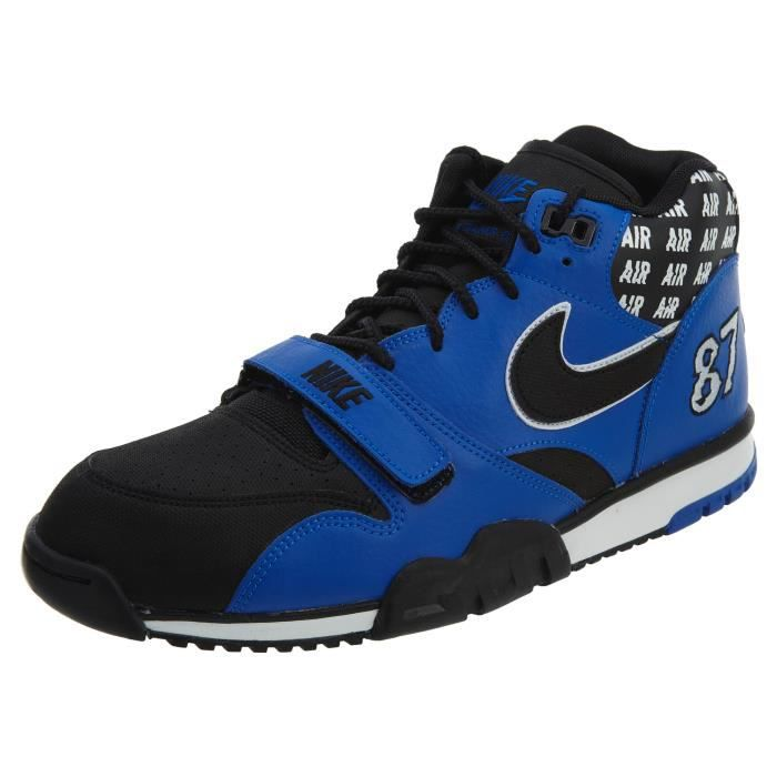 huge discount b7479 41750 NIKE Air Trainer Hommes 1 Mid Soa Style: Aq5099 1HS8W6 Taille-M Noir ...
