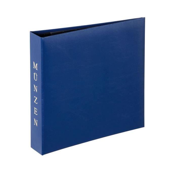 Album Pour Pièces De Monnaie 4 Anneaux Munzen Bleu Achat Vente