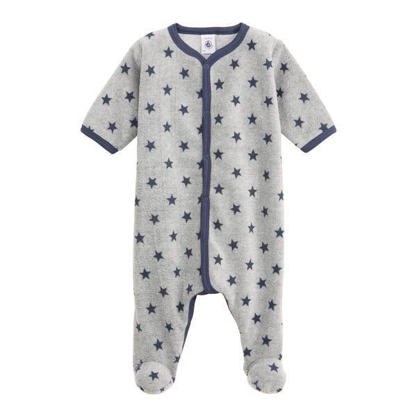 bf8089c318f55 Surpyjama étoile gris bleu - 18 mois - Achat   Vente pyjama ...