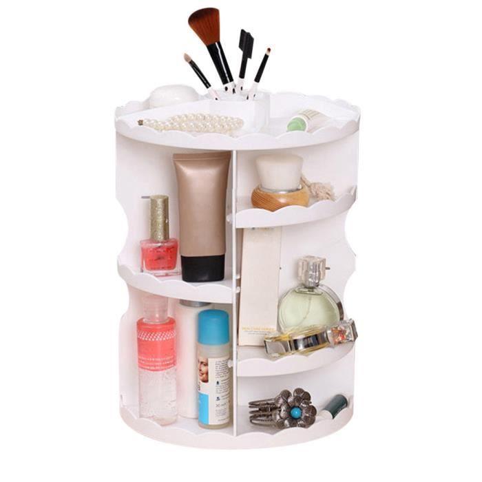exquisgift®360 degré rotation présentoir cosmétique boîte de rangement Maquillage~WSS12010832