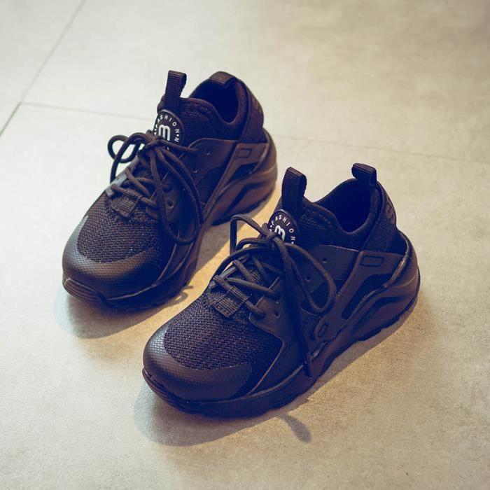 Basket Chaussures de course à pied respirant pour enfant unisexe chaussures de sport WaLni