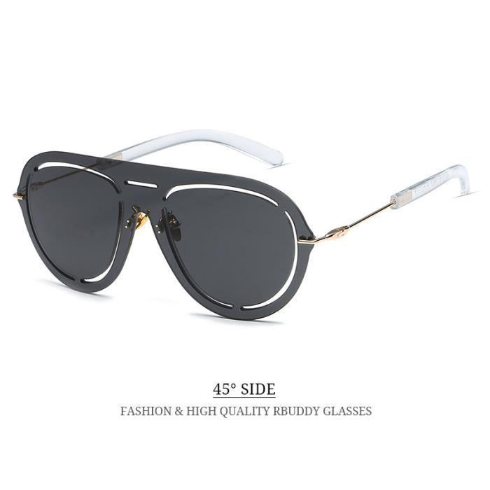 oculos Marque Lunettes sol de de soleil de 2017 Femme Lunettes Luxe soleil femmes de soleil RBUDDY lunettes soleil Designer hommes qdg8nWRq