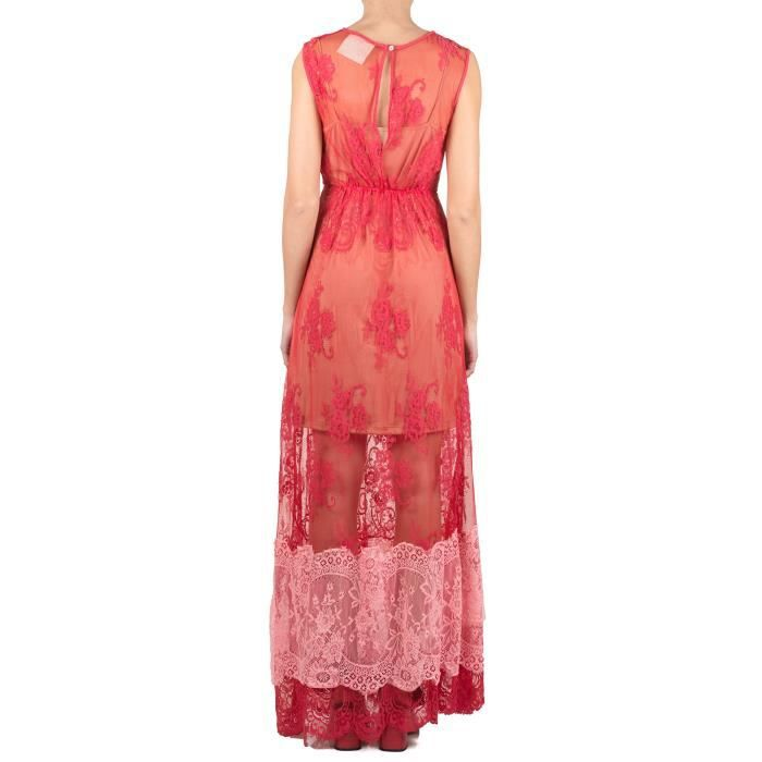 ANIYE BY FEMME 185179 ROUGE COTON ROBE