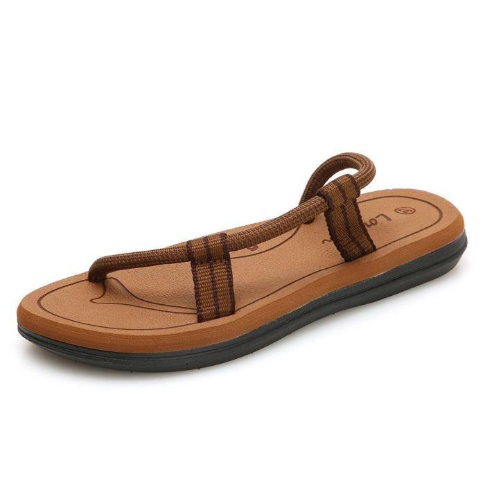 Été Mode Plage Hommes Antidérapage Flats Sandales Couples Cap®191 De Femmes Chaussures Casual rrxqHdX