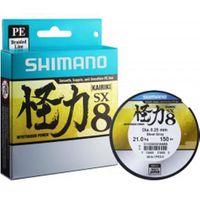 FIL DE PÊCHE Tresse shimano kairiki - gris - 150m 150 28 28-100