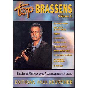 LIVRE MUSIQUE Georges Brassens. Volume 1