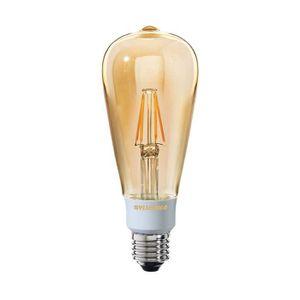 SYLVANIA Ampoule LED ? filament Toledo Retro ST 64 Edison ambré E27 5W équivalence 50W dimmable