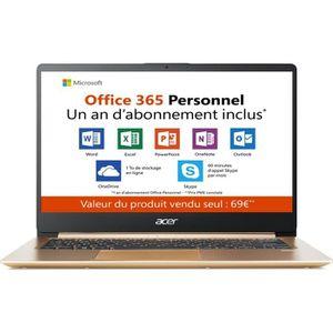 ORDINATEUR PORTABLE PC Ultrabook - ACER Swift 1 SF114-32-C1L2 - 14