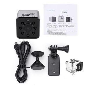 CAMÉRA MINIATURE Caméra d'action infrarouge WiFi mini 1080P portabl