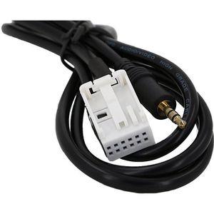 CÂBLE TV - VIDÉO - SON 3,5mm voiture Câble AUX in Adaptateur auxiliaire P