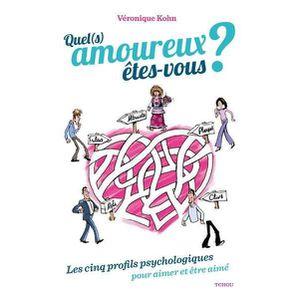 LIVRE PSYCHOLOGIE  Livre - quel amoureux êtes-vous ? les cinq profils