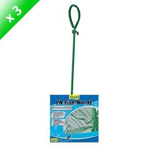 MANIPULATION - CROCHET TETRA Lot de 3 Epuisettes FN XL 15cm pour poisson