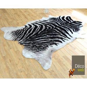 tapis zebre achat vente tapis zebre pas cher soldes d s le 10 janvier cdiscount. Black Bedroom Furniture Sets. Home Design Ideas