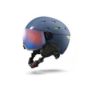859d3f86f9937e CASQUE SKI - SNOWBOARD Casque de ski mixte JULBO Bleu NORBY VISOR Bleu ...
