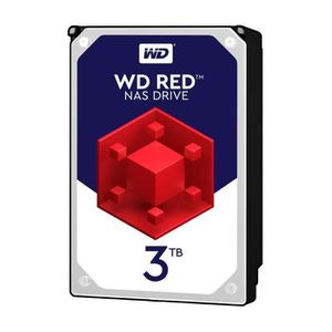 DISQUE DUR INTERNE WESTERN DIGITAL Disque dur interne Red 3To 64Mo 3.