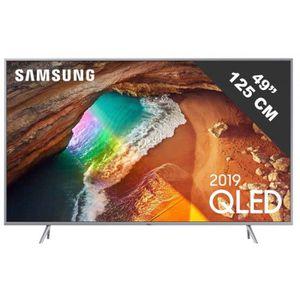 Téléviseur LED TV LED de 46 à 52 pouces SAMSUNG - QE 49 Q 64 R •