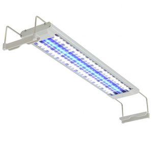 ÉCLAIRAGE vidaXL Lampe à LED pour aquarium 50-60 cm Aluminiu