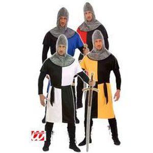 DÉGUISEMENT - PANOPLIE Déguisement chevalier médiéval jaune-M