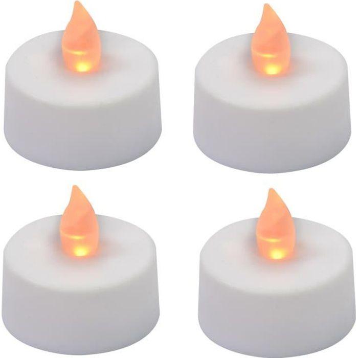 bougie a piles avec flammes vacillant achat vente. Black Bedroom Furniture Sets. Home Design Ideas